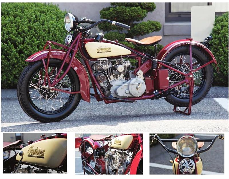 Reproduction Antique Motorcycle Parts